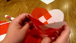 How to Make Julehjerter - woven Danish hearts (ornament baskets)