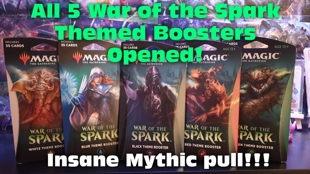 ** Magic the Gathering War of the Spark White Theme Booster Pack