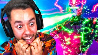 REACCIONANDO AL EVENTO FINAL DE GALACTUS EN FORTNITE - TheGrefg