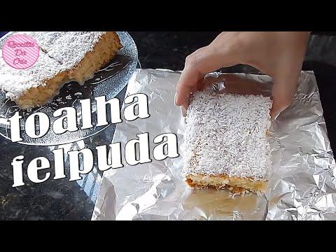 Bolo Gelado De CocoToalha Felpuda!!!