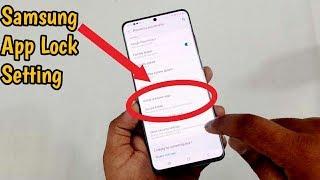 Samsung S20/A50s/A30s/M31 App Lock Setting   Use Secure Folder Lock screenshot 5