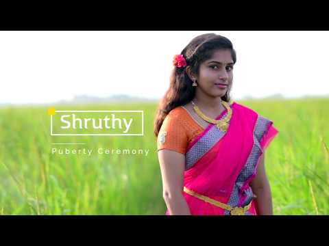 Shruthy  Puberty Ceremony Highlights | a video song