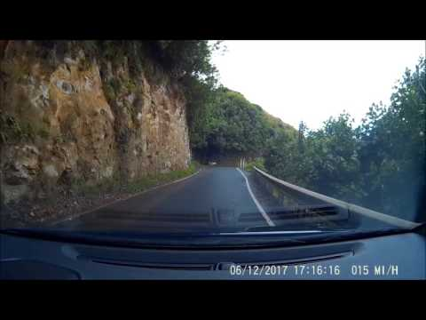 Driving, Airport area to Kaanapali NW Coast, Maui, Hawaii, 1x Speed, Part 2 of 4