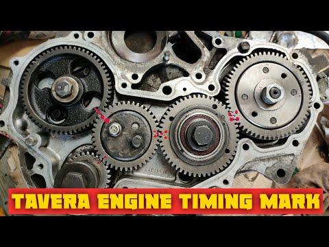 Cevrolet Tavera Diesel Engine Timing Mark || Hindi