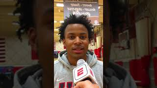 Moses Moody: 2019 USA Basketball Junior Minicamp Interview