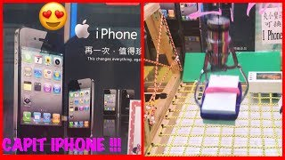 CAPIT HP  IPHONE 😍  | CLAW MACHINE  | 夾娃娃