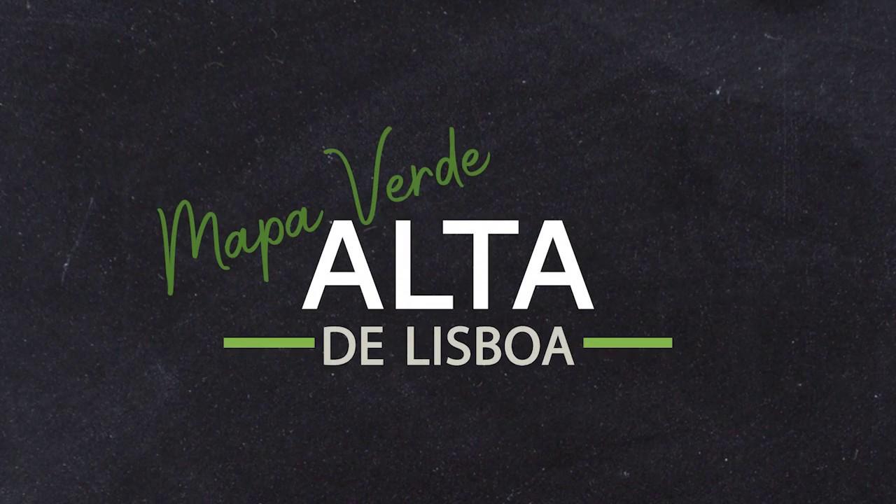 Mapa Verde Da Alta De Lisboa Youtube