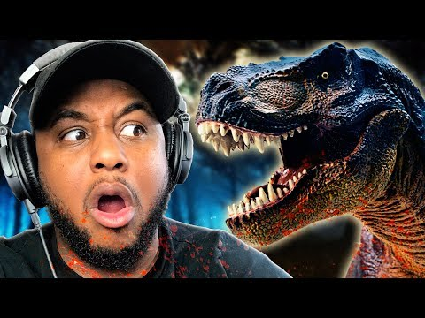 ESCAPE THE DINOSAUR!! | Jurassic Park: T-Rex Breakout