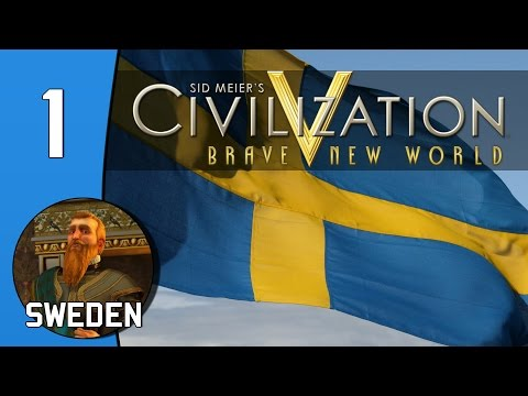 Stockholm - Civilization 5: BNW - Game of the Month 109 - Sweden: Part 1