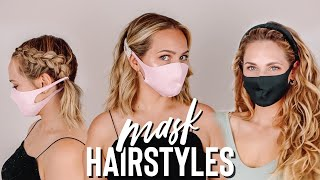 Cute hairstyles to wear with a mask Kayley Melissa