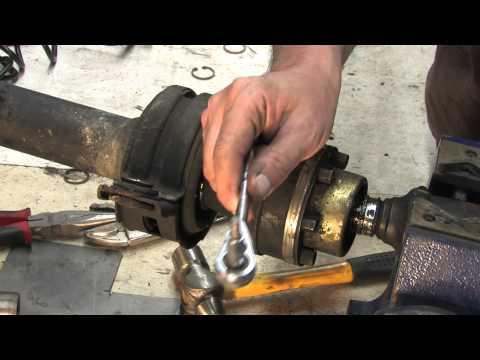 Driveshaft 103 - Replacing carrier bearings