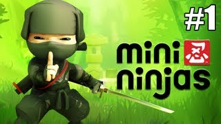 "Mini Ninjas: Episódio 1 - ""Hiro, Futo e o Samurai do Mal!"""
