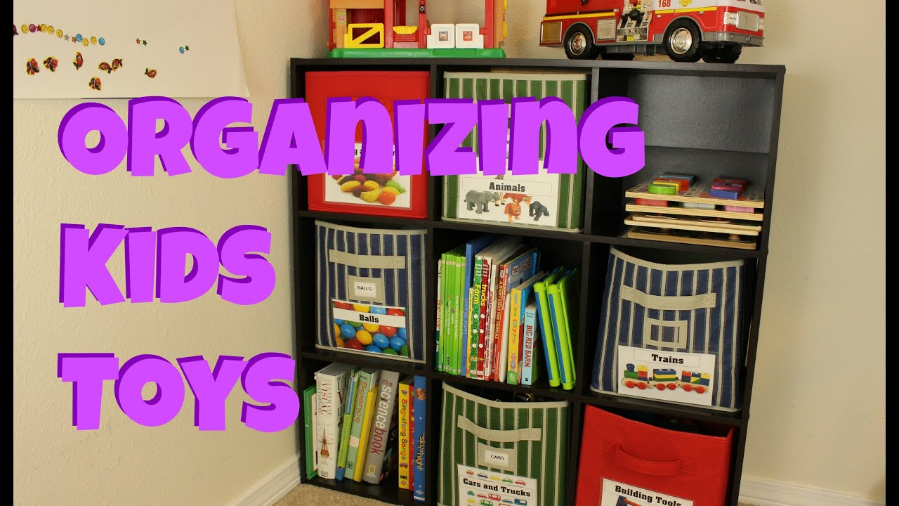 Kids Room With Toys organizing kids toys - youtube