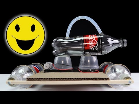 DIY : How to Make a Toy Car with DC Motor - New Smart Idea