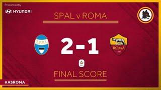 SPAL 2-1 ROMA! L'ANIMA DE LI MEGLIO MORTACCI VOSTRA! CHAMPIONS ADDIO NON VE MERITATE UN CAZZO MERDE!