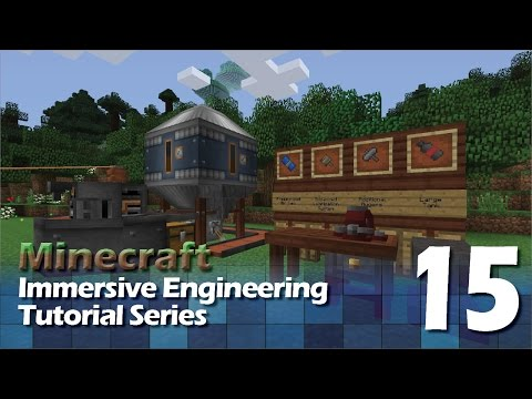 Immersive Engineering Tutorial #15 - Mining Drill