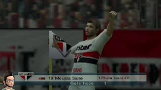 PES - Brasileirão 2018 - SPFC X Paris Saint Germain Playstation 2