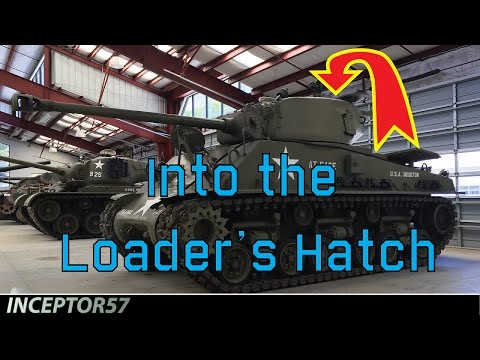 A Quick Look | M4A3E8 SHERMAN LOADER'S POSITION - WET STOWAGE
