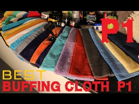 The best microfiber buffing cloth for cars, microfibre detailing towel PART 1