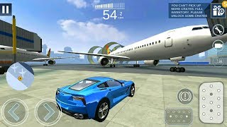 Extreme Car Driving Simulator 2 #3 - Looping Airport Map - Android Gameplay FHD