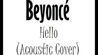 Hello [Acoustic version] (Instrumental Beyoncé cover)