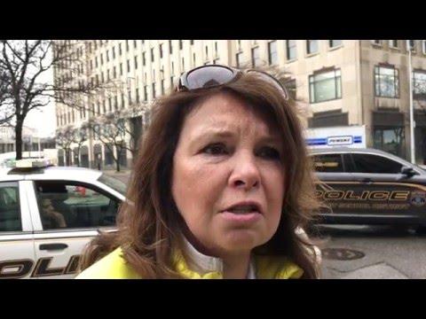 Detroit public school teachers walk out