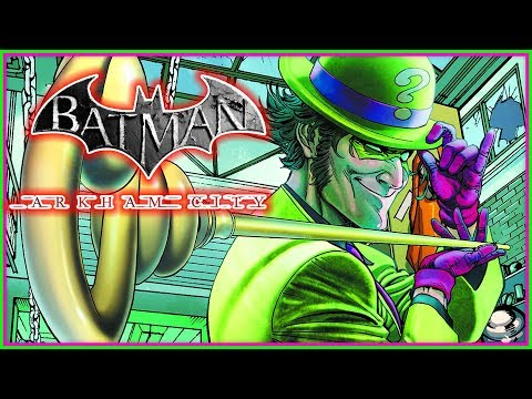 Batman Arkham City Riddler Trophy Hunt!