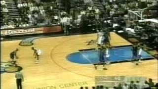 (1999) McGrady scores 18pts vs Iverson