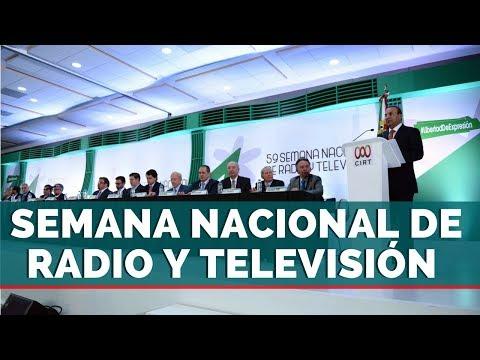 INAUGURACIÓN DE LA 59 SEMANA NACIONAL DE RADIO Y TELEVISIÓN