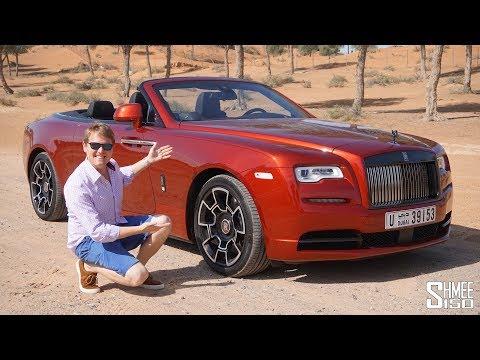 The Rolls-Royce Dawn Black Badge is the Perfect Dubai Car!   REVIEW