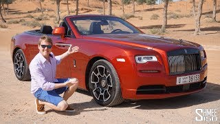 Taking a Rolls-Royce Dawn to the Desert! | REVIEW thumbnail
