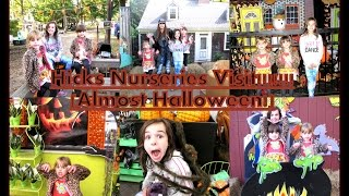 Hicks Nurseries - Otto The Ghost, Halloween Hay Ride, Petting Zoo & More