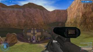 Halo 2 PC - Multiplayer Sniper Gameplay on Coagulation Part 1 [HD720p]