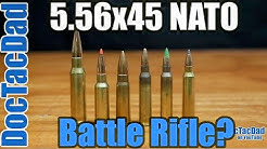 5.56x45mm NATO For a Battle Rifle?