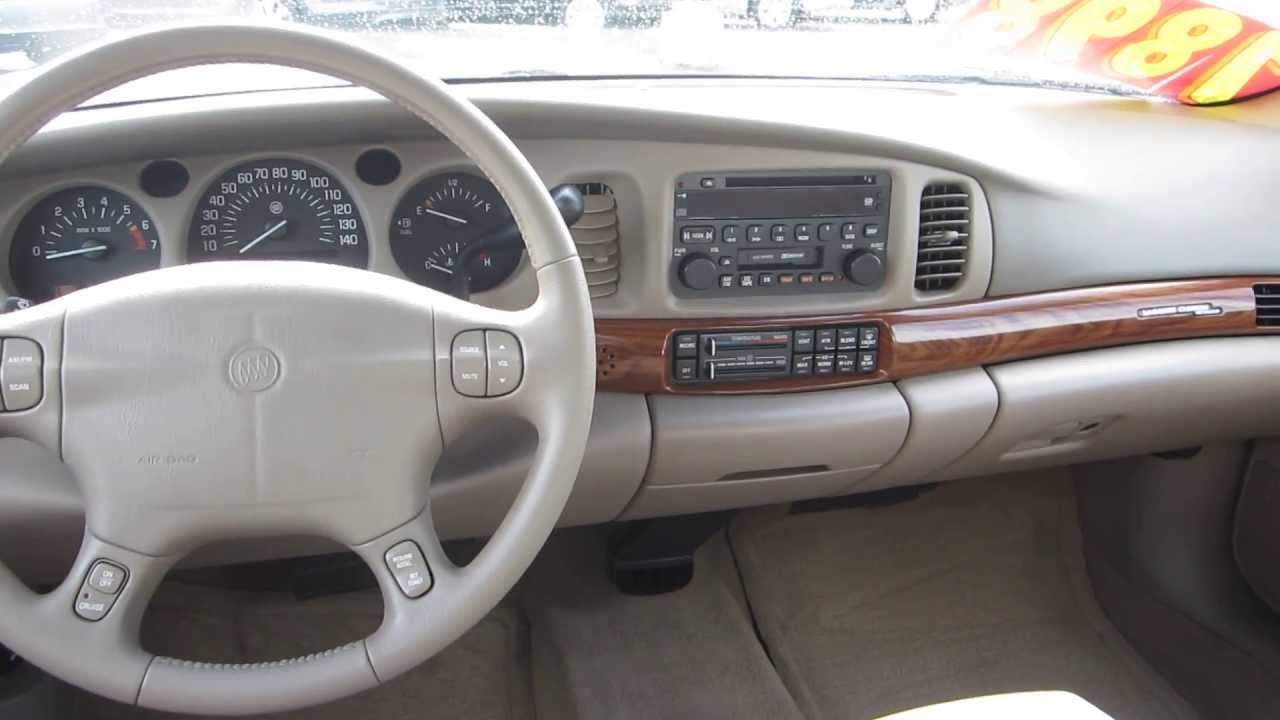 2002 Buick Lesabre Gold Stock 29578bl Interior Youtube