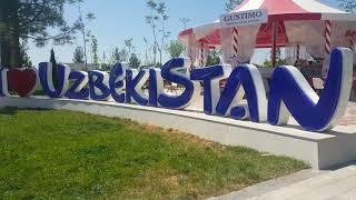 Парк Ашхабад.Ташкент