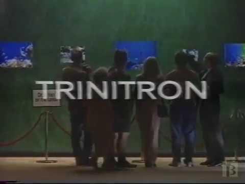 Sony Trinitron TV Commercial 1991
