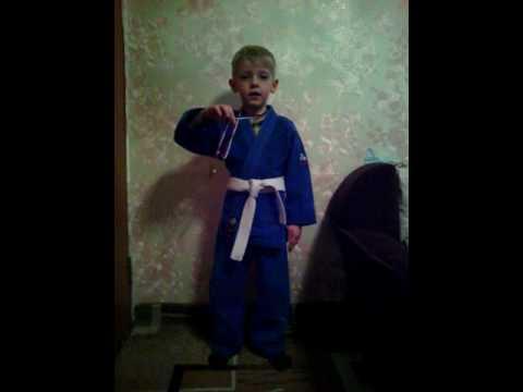 Молодой спортсмен.