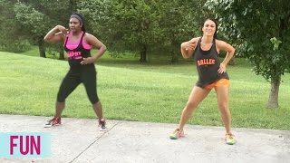 pitbull fun ft chris brown dance fitness with jessica