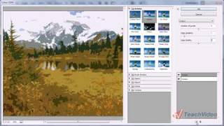 Имитация художественных рисунков в Adobe Photoshop (9/20)