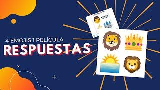 4 Emojis 1 Película TODAS LAS RESPUESTAS!!