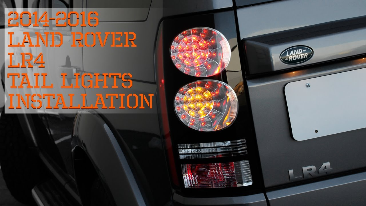 14 16 land rover lr4 tail lights installation youtube chevrolet tail light wiring diagram 14 16 [ 1280 x 720 Pixel ]