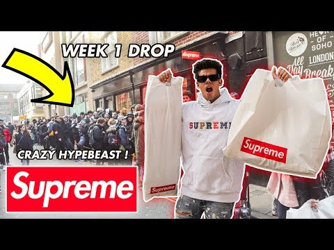 HOW MUCH DID HYPEBEASTS SPEND AT SUPREME DROP WEEK 1