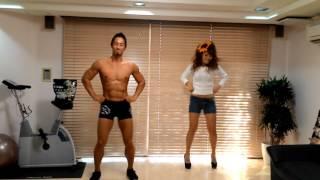 【マチョパラ】伝説のパラリストなちゅと一緒にeasy busy踊ってみた【パラパラ】