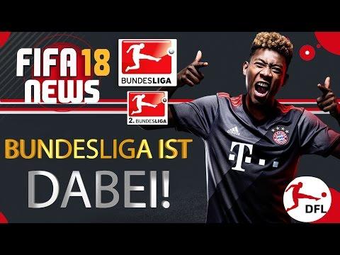 FIFA 18 - NEWS ● BUNDESLIGA IST DABEI!