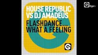 HOUSE REPUBLIC VS DJ AMADEUS - Flashdance... What A Feeling