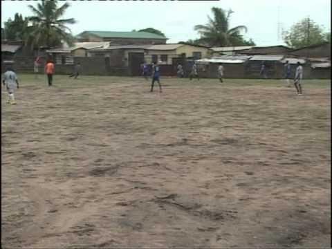 (ghana) soccer trial match 4.4.2