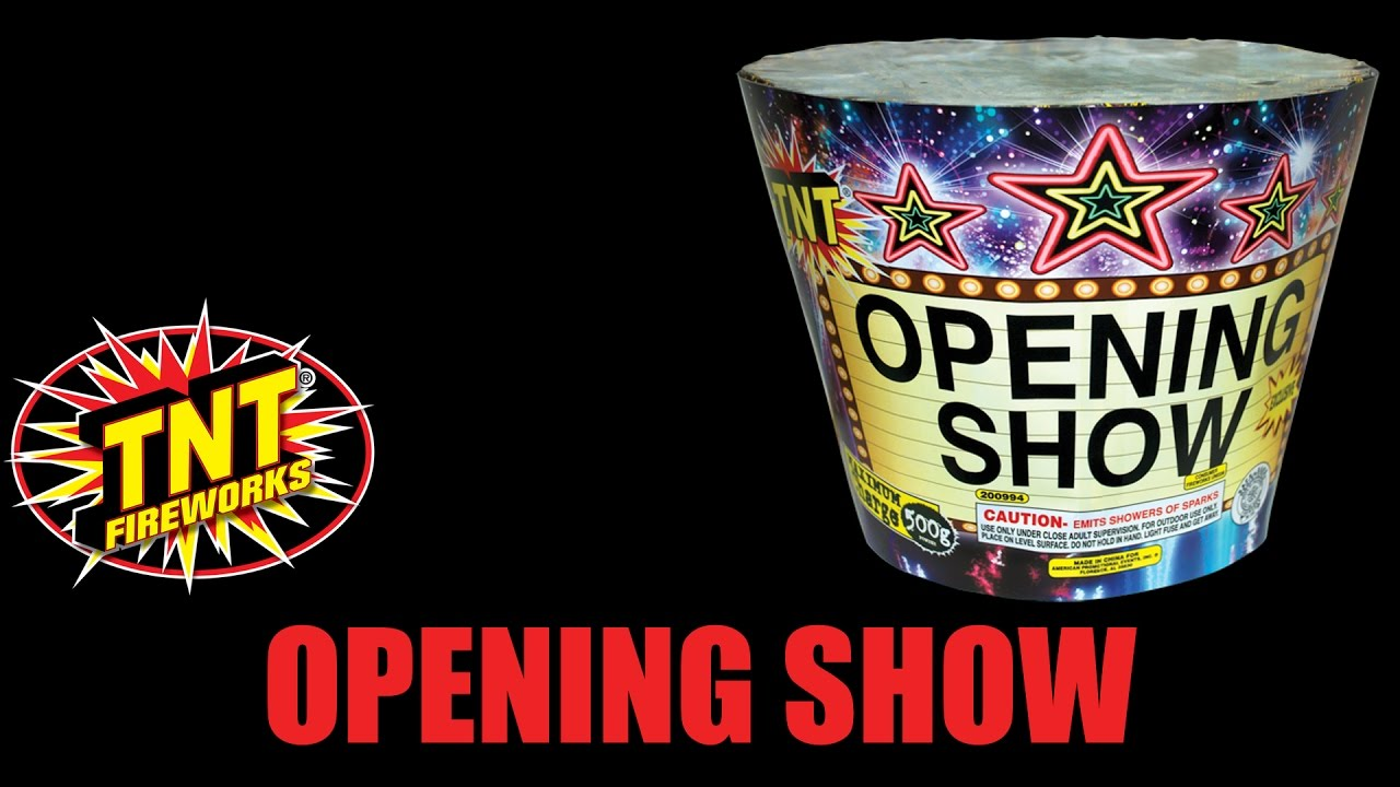 Opening Show - TNT Fireworks® Official Video