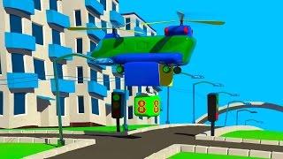 Lehrreicher Zeichentrickfilm - Zahlen Lernen auf dem 3D Flughafen - Teil 6
