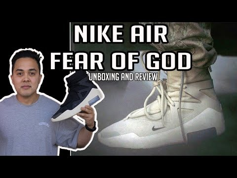 Nike Air FEAR OF GOD - WORLDS FIRST LOOK! Review and Unboxing